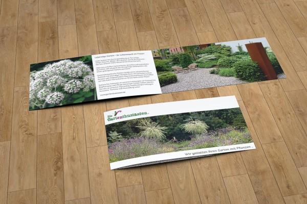 Flyer für die Gartenenthusiasten