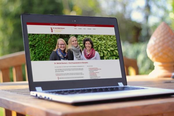 Webdesign für Dr. Bremers