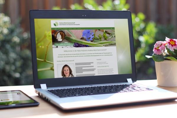 Webdesign für Naturheilpraxis Sommershoff
